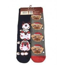 Christmas Socks E4 (2pairs)