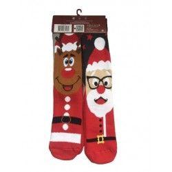 Christmas Socks E6 (2pairs)