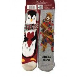 Christmas Socks E12 (2 pairs)