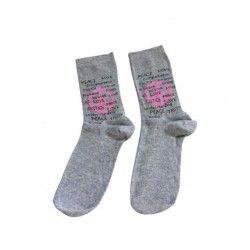 Peace Grey Socks...