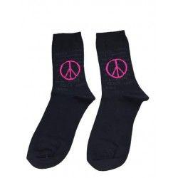 Peace Black Socks...