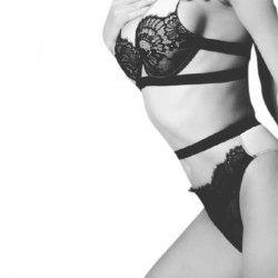 Valeria Black Lace Set...