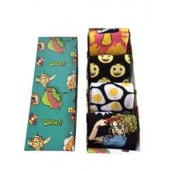 Mix Gift Socks Box Z9...