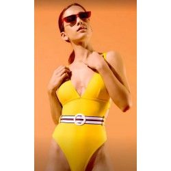 Ofelia Yellow Swimsuit